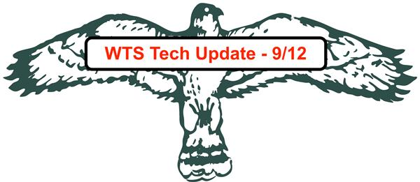 WTS Student Tech Update - 9/12: Returns, Device Agreements and Grades 4-8 Chromebook Distribution