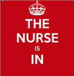 the nurse is in